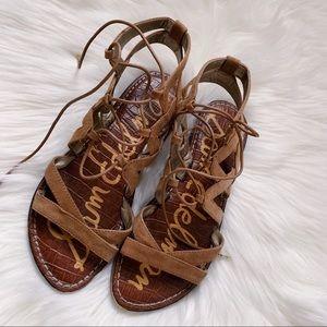 Sam Edelman Brown Gladiator Sandals